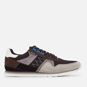 PS by Paul Smith Men's Vinny Runner Style Trainers - Anthracite