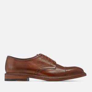 Paul Smith Men's Rosen Leather Toe Cap Derby Shoes - Tan