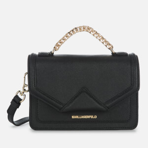 Karl Lagerfeld Women's K Klassik Medium Shoulder Bag - Black