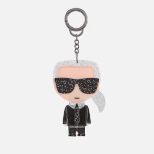 Karl Lagerfeld Women's K Ikonik Karl Plexi Keychain - Clear