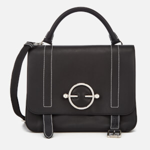 JW Anderson Women's Disc Satchel - Black