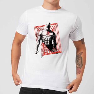 T-Shirt Marvel Knights Daredevil Cage - Bianco - Uomo