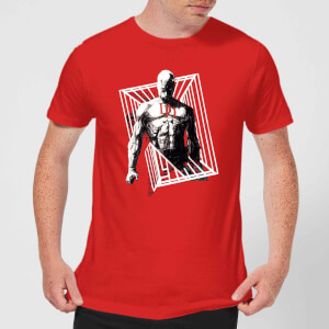 T-Shirt Homme Daredevil Cage - Marvel Knights - Rouge