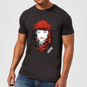 Marvel Knights Elektra Face Of Death Men's T-Shirt - Black