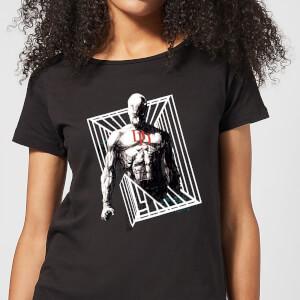 T-Shirt Femme Daredevil Cage - Marvel Knights - Noir