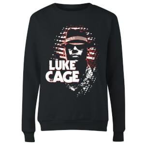Marvel Knights Luke Cage Women's Sweatshirt - Black