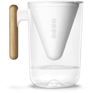 Soma 10-Cup Pitcher - 2.25L - White