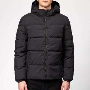 Calvin Klein Jeans Men's Hooded Down Jacket - CK Black