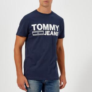 Tommy Jeans Men's TJM Essential Logo T-Shirt - Navy