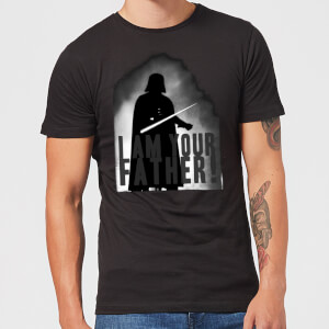 Camiseta Star Wars Darth Vader I Am Your Father Silueta - Hombre - Negro