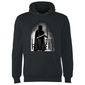 Sudadera Star Wars Darth Vader I Am Your Father Silueta - Negro