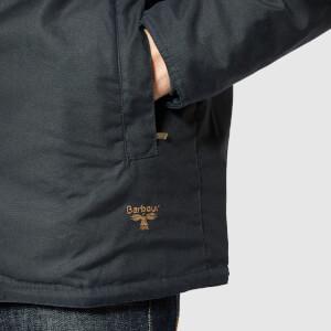 Barbour Men's Beacon Aira Wax Jacket - Navy: Image 5