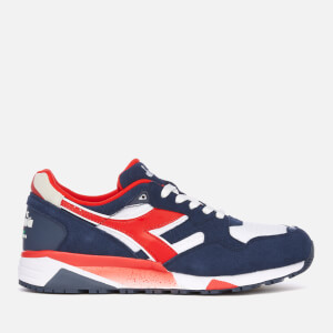 Diadora Men's N9002 Trainers - Insignia Blue/White