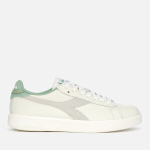 Diadora Women's Game Wide Trainers - White/Basil