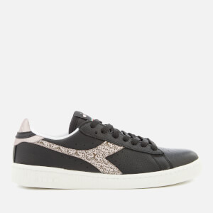 Diadora Women's Game Trainers - Black/Golden Rose