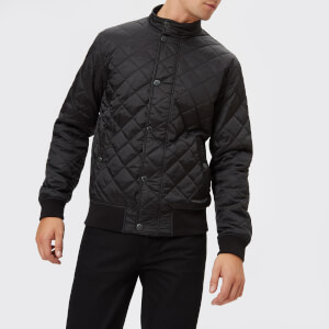 Barbour Men's Edderton Quilted Blouson Jacket - Black