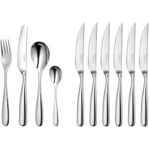 Robert Welch Stanton 30 Piece Cutlery Set with 6 Steak Knives