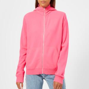 Helmut Lang Women's Long Sleeve Hoodie - Shocking Pink
