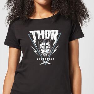 Camiseta Marvel Thor Ragnarok Asgardian Triángulo - Mujer - Negro