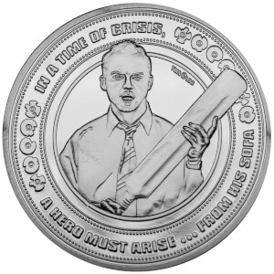 Shaun of the Dead Collector's Limited Edition Coin: Silver Variant