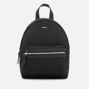 DKNY Women's Casey Backpack - Black/Silver