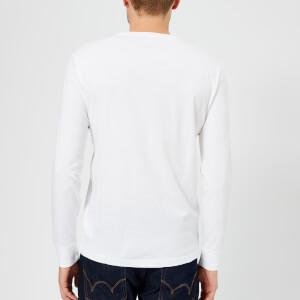 Polo Ralph Lauren Men's Basic Crew Neck Long Sleeve T-Shirt - White: Image 2