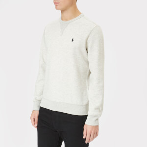 Polo Ralph Lauren Men's Crew Neck Tech Sweatshirt - Light Sport Heather