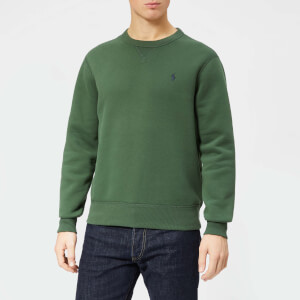 Polo Ralph Lauren Men's Basic Crew Sweatshirt - Spartan Green