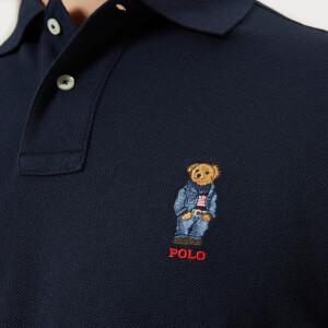 Polo Ralph Lauren Men's Ted Short Sleeve Polo Shirt - Aviator Navy: Image 4
