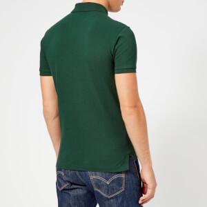Polo Ralph Lauren Men's Slim Fit Short Sleeve Polo Shirt - College Green: Image 2