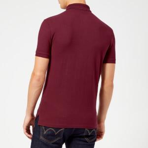 Polo Ralph Lauren Men's Slim Fit Short Sleeve Polo Shirt - Classic Wine: Image 2