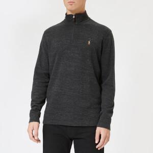 Polo Ralph Lauren Men's Half Zip Sweater - Charcoal