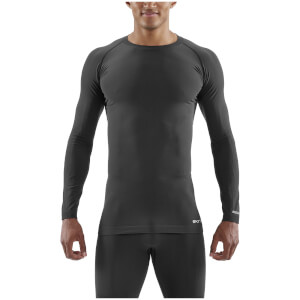 Skins DNAmic Base Long Sleeve Top - Black