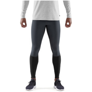 Skins DNAmic Thermal-Windproof Starlight Tights - Black/Charcoal