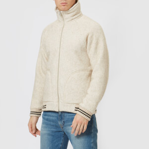Nigel Cabourn X Peak Performance 2.0 Men's Wool Fleece Jacket - Mountain Stone