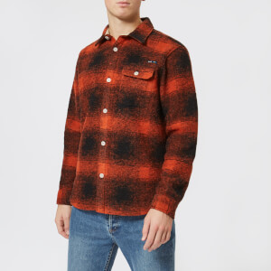 Nigel Cabourn X Peak Performance 2.0 Men's CPO Shirt - Survival Orange