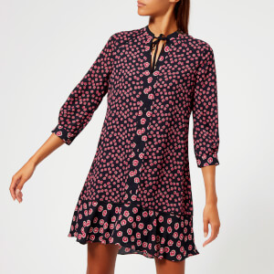 Whistles Women's Lenno Print Shirt Dress - Pink/Multi