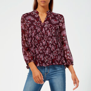Whistles Women's Pitti Print Blouse - Pink/Multi
