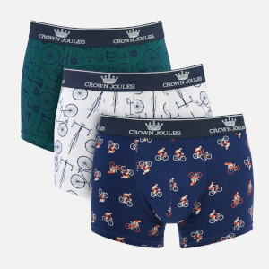 4bb61ae223 Joules Men's Crown Joules 3 Pack Boxer Shorts - Great Ride
