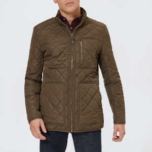Joules Men's Derwent Quilted Jacket - Country Brown