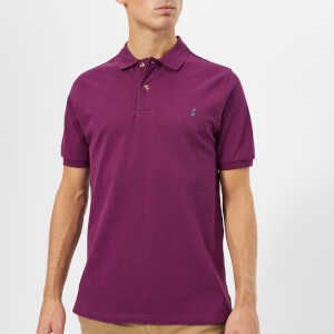 Joules Men's Woody Classic Fit Polo Shirt - Dark Purple