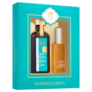 Moroccanoil 10 Year Special Edition - Treatment Light 100ml + Dry Body Oil 50ml (Worth £68.85)