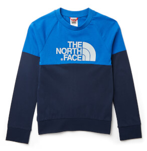 The North Face Boys' Youth Long Sleeve Easy T-Shirt - Cosmic Blue
