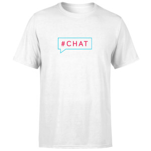 Chat Men's T-Shirt - White
