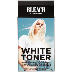 Kit neutralizador de tonos amarillos White Toner de BLEACH LONDON