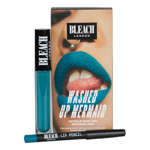 BLEACH LONDON Lip Kit Washed Up Mermaid