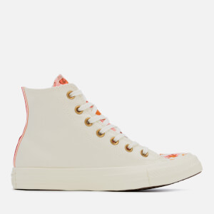 Converse Women's Chuck Taylor All Star Hi-Top Trainers - Egret/Storm Pink/Egret