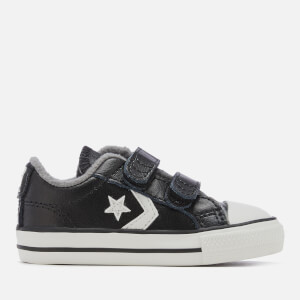 Converse Toddlers' Star Player 2V Ox Trainers - Black/Mason/Vintage White