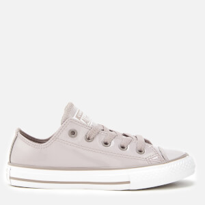 Converse Kids' Chuck Taylor All Star Ox Trainers - Mercury Grey/Mercury Grey