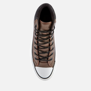 Converse Men's Chuck Taylor All Star PC Hi-Top Boots - Chocolate/Black/White: Image 3